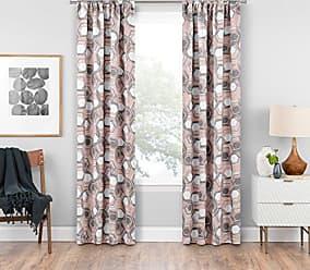 Ellery Homestyles KOZDIKO Eclipse Griffith Blackout Window Curtain Panel, 37 x 95, Pink