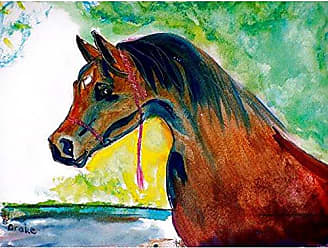 Betsy Drake PM050 Prize Horse Place Mat, Set of 4