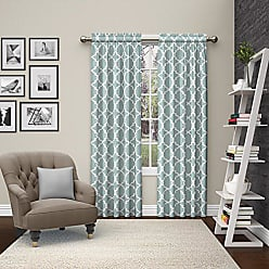 Ellery Homestyles Pairs to Go 15617056X084TAU Vickery 56-Inch by 84-Inch Window Curtain Pair, Taupe