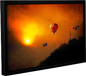ArtWall Dragos Dumitrascus Sunset Expedition Gallery Wrapped Floater Framed Canvas Artwork, 16 x 24