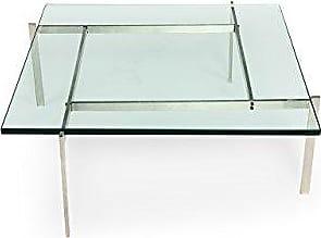 Kardiel PK61 Mid-Century Modern Coffee Table, Silver