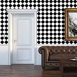 Walplus Adesivi da Parete Specchio Parete Cristallo Astratto Cuore Murali Caf/é Hotel Ristorante Ufficio Casa Decorazione
