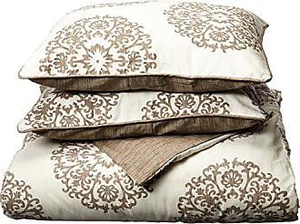 Revman International Stone Cottage Medallion Cotton Sateen Duvet Cover Set, Full/Queen