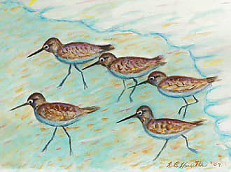 Betsy Drake TP269 Sandpipers Outdoor Wall Hanging 24 x30