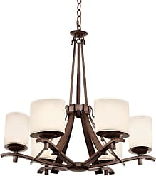 Kalco 2997TN Stapleford 6 Light 1 Tier Chandelier Tuscan Sun Indoor