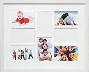 Deknudt Frames S65SK3 Cadre Multi-Photos avec 12 Ouvertures Blanc 10 x 15 cm