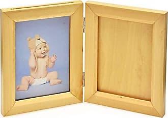 Espressione Porta Retrato com Molde Marfim Baby Moments Foto 10 x 15cm