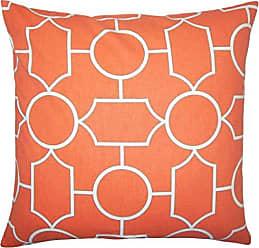 The Pillow Collection Samoset Geometric Bedding Sham Papaya Standard/20 x 26