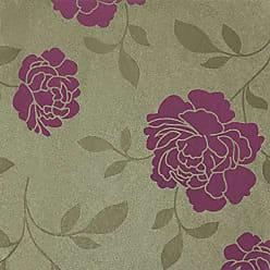 Portodesign Papel de Parede Vinílico Rolo Italian Silks AR0054 Porto Design Rosa/Verde