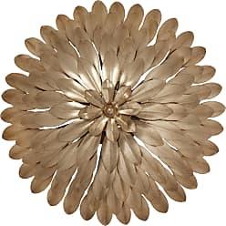 Crystorama Broche 4 Light Gold Sconce