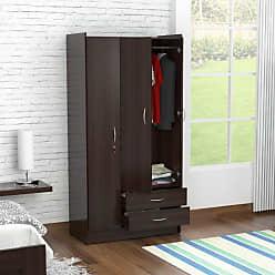 Inval America 3-Door Wardrobe - Espresso - AM-B223