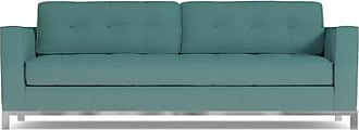 Apt2B Fillmore Sofa - Teal Poly Blend - Sold by Apt2B - Modern Couch Made in the USA