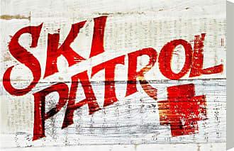 Hatcher & Ethan Ski Patrol Vintage Canvas Wall Art - HE11811_60X40_CANV_XXHD_HE