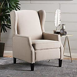 GDF Studio Christopher Knight Home 301081 Westeros Recliner Chair, Wheat