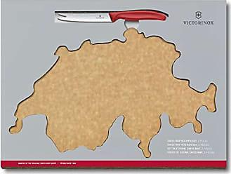 Victorinox 7.4101.1 Rettangolare Legno Nero Tagliere da Cucina