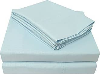 Superior Executive 3000 Series Wrinkle Resistant Crocodile Sheet Set, Queen, Blue