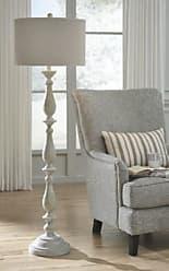 Ashley Furniture Bernadate Floor Lamp, Whitewash