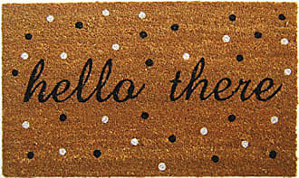 Geo Crafts Geocrafts Vinyl Back Hello There Doormat