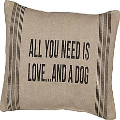 Primitives By Kathy Primitives By Kathy 15 X 10 Accent Throw Pillow - All You Need Is Love and a Dog