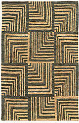 Linon Linon Jute Collection Soumak Beige/Slate 8x11 8X 11 Brown