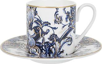 Roberto Cavalli Azulejos Espresso Cup & Saucer