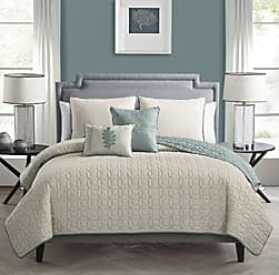VCNY Home Nina Embossed Quilt Set - Taupe - Size: Twin