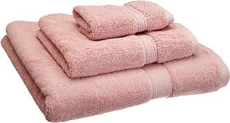 Home City Inc. Superior 900 GSM Luxury Bathroom 3-Piece Towel Set, Made Long-Staple Combed Cotton, Hotel & Spa Quality Washcloth, Hand Towel, and Bath Towel - Tea Rose