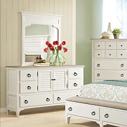 Riverside Furniture Myra 6 Drawer 1 Door Dresser with Optional Mirror - RVS3630-1