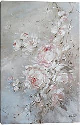 iCanvas Blush Rose Canvas Print by Debi Coules, 26 x 18