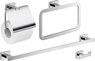 Nameek's Gedy ATN107 Atena Wall Mounted Hardware Set Chrome