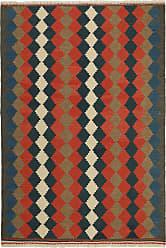 Nain Trading Oriental Kilim Fars Rug 69x49 Brown/Orange (Wool, Iran/Persia, Handwoven)