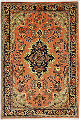 Nain Trading Authentic Mehraban Rug 53x36 Brown/Orange (Wool, Iran/Persia, Hand-Knotted)