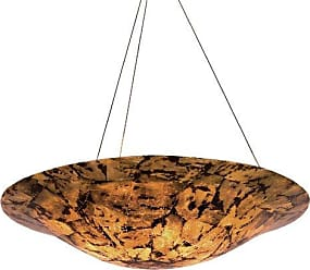 Varaluz 178P04B Big 4-Light Pendant - Finish with Reclaimed Chocolate Tiger Shell