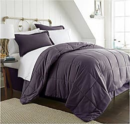 iEnjoy Home Becky Cameron Box ienjoy Home 8 Piece Bed in a Bag, TwinXL, Purple