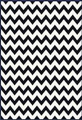 Milliken Carpet Milliken Black & White Collection Vibe Border 310X54 Purple