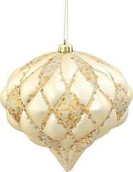 Vickerman Matte/Glitter Diamond Ornament, 5.7-Feet-Feet, Champagne