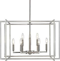 Golden Lighting 6070-9 PW Tribeca 9 Light 26 Wide Taper Candle
