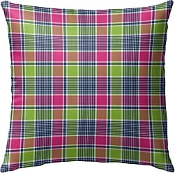 Kavka Designs Love Potion Plaid Outdoor Pillow - OPI-OP16-16X16-NOR323