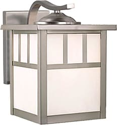 Vaxcel Lighting OW14673 Mission 1 Light Outdoor Wall Sconce - 7.75