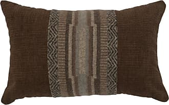 Wooded River Lodge Lux Geometric Indoor Pillow - WD26671
