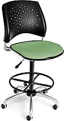 OFM 326-DK-2207 Stars Swivel Stool with Fabric Seat