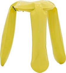 Zieta Plopp Stool Yellow Stainless standard