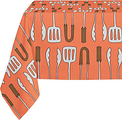Kavka Designs Tongs and Spatula Tablecloth - TBC-SPLLT-70X90-NOR029