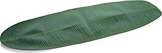 Zodax Eva Banana Leaf, 52.75 Long Table Runners, Green
