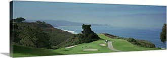 Great Big Canvas Golf Course at the Coast Torrey Pines San Diego California Canvas Wall Art - 117743_24_36X12_NONE