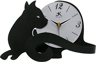 Infinity Instruments Cat Tail Tabletop Clock - 13928-3066