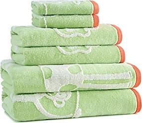 Kassatex Kassa Kids Jungle Bath Towel, Green