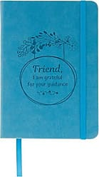 AngelStar Notebook - Friend I am Grateful for Your Guidance Multicolored