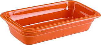 Paderno World Cuisine 44317O06 Induction Porcelain Hotel Pan Extra Small Orange