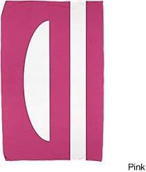 E by Design Ebydesign Lock Beach Towel 30 x 60 Pink